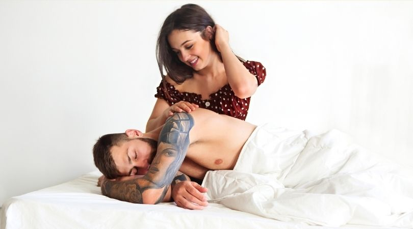 Das Beste daran, neben jemandem zu schlafen, den man liebt