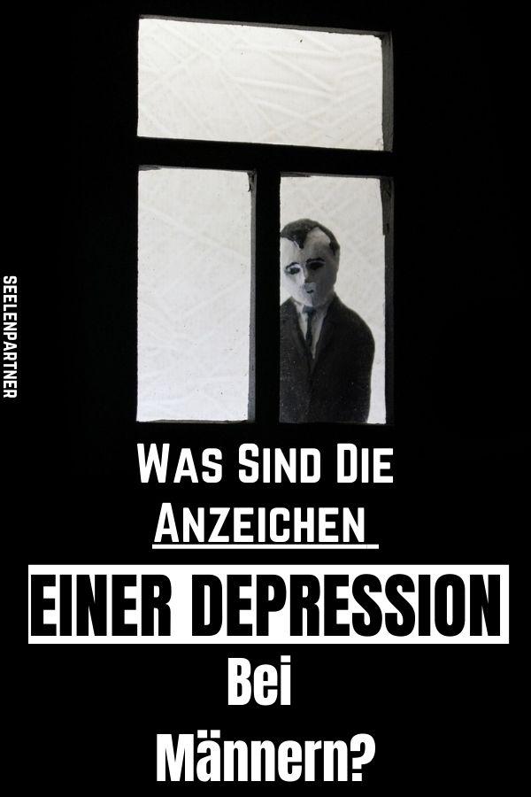 Was sind die Anzeichen einer Depression bei Männern?