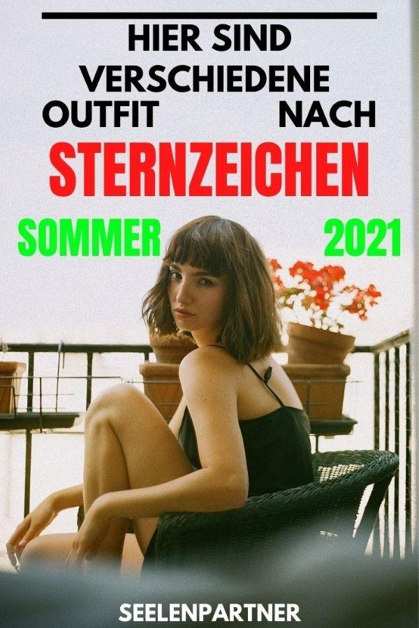 Hier sind verschiedene Outfit nach Sternzeichen Sommer 2021