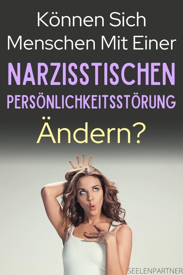 Ob narzisstische Menschen sich ändern können! Hier erklärt