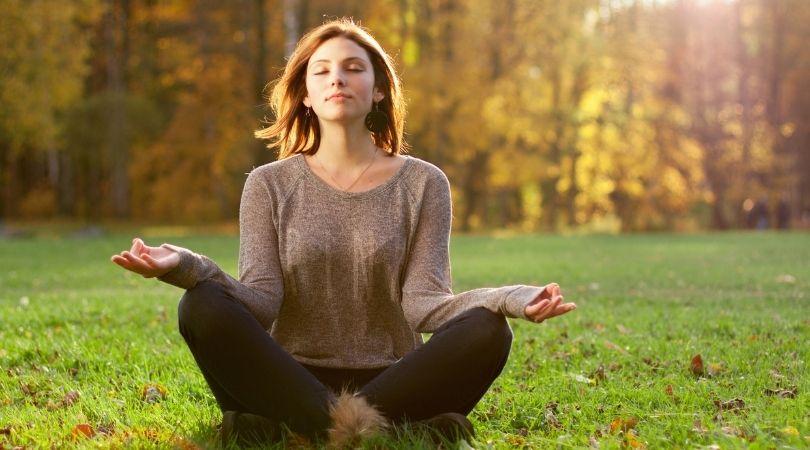 Wie man einen guten Körper, Geist und Seele hat spirituelle Praktiken